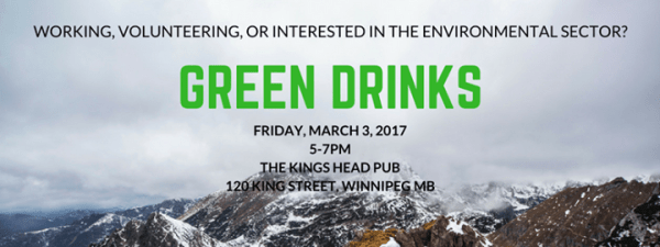 Green Drinks - March