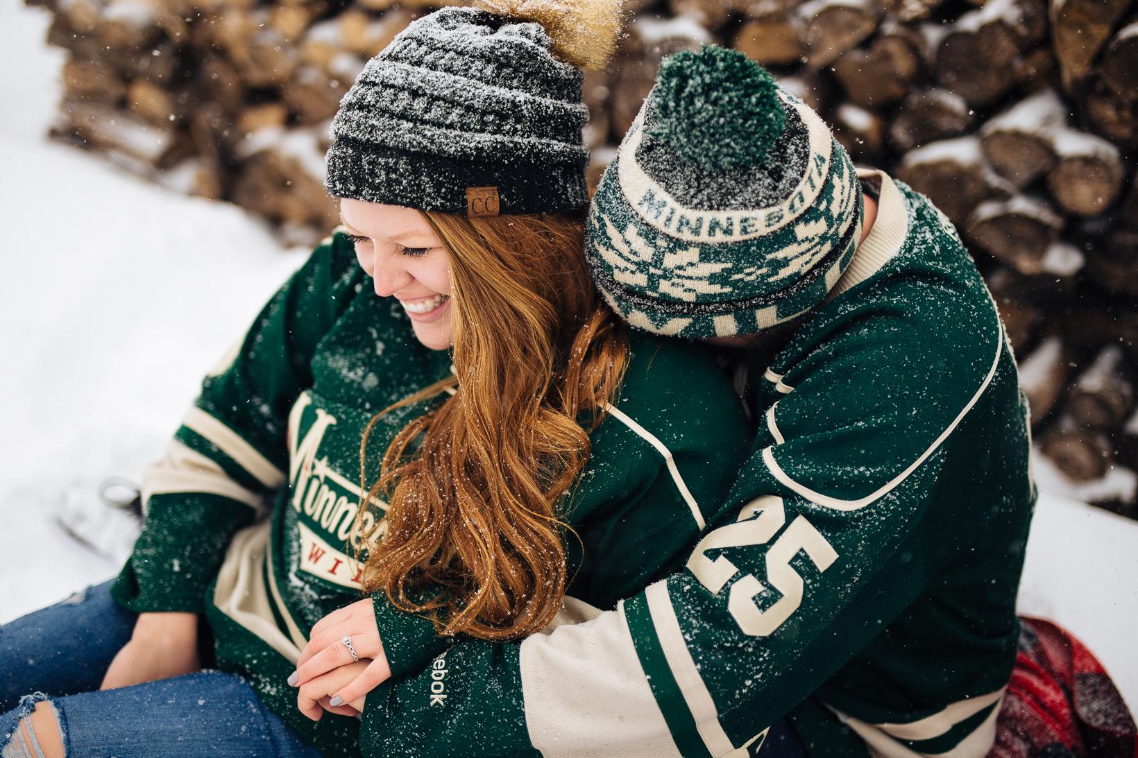 Derek + Tayler // Winter Engagement