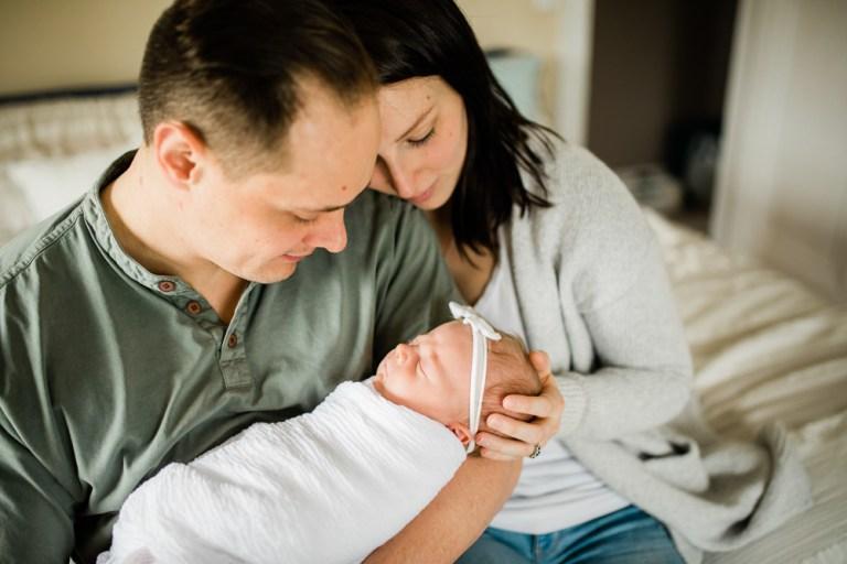 Maelynn // Newborn Lifestyle Session
