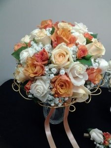 MB Eventi in fiore a Roma è il regno dei fiori e delle piante - Bouquet da Sposa 751