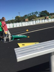 Corn hole at FC Walkathon