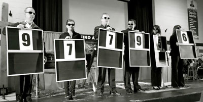 "New Hope members revealed fundraised amount in ""Deal or No Deal""-styled presentations. Photo: Ally Braun"