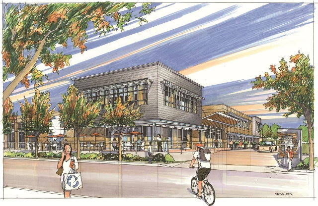 Artist's drawing of the new MCC Centre which will be built on Gladys Avenue. Courtesy MCC BC.