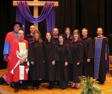 MBBS-ACTS 2013 graduates with faculty.