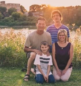 Michaud Family Photo: Tony Schellenberg