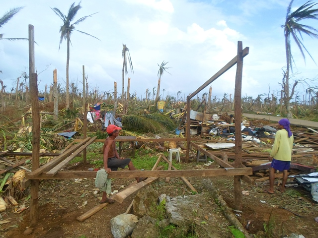 Haiyan-related damages, Eastern Samar