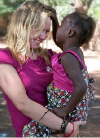 Cecely Doerksen in Burkina Faso
