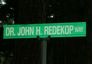 Stillwood names a street for a veteran board member. PHOTO: Harry Edwards