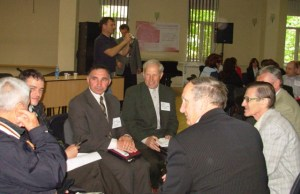 Pastors gather to learn and encourage at a conference.