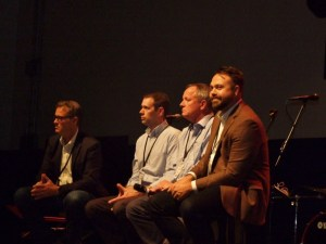 Panel discussion at the church multiplication conference
