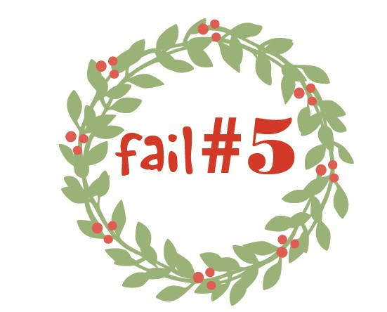 Christmas season fail 5