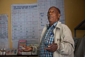 Mengistu Dejene (Director at Remember the Poorest). PHOTO: Matthew Sawatzky