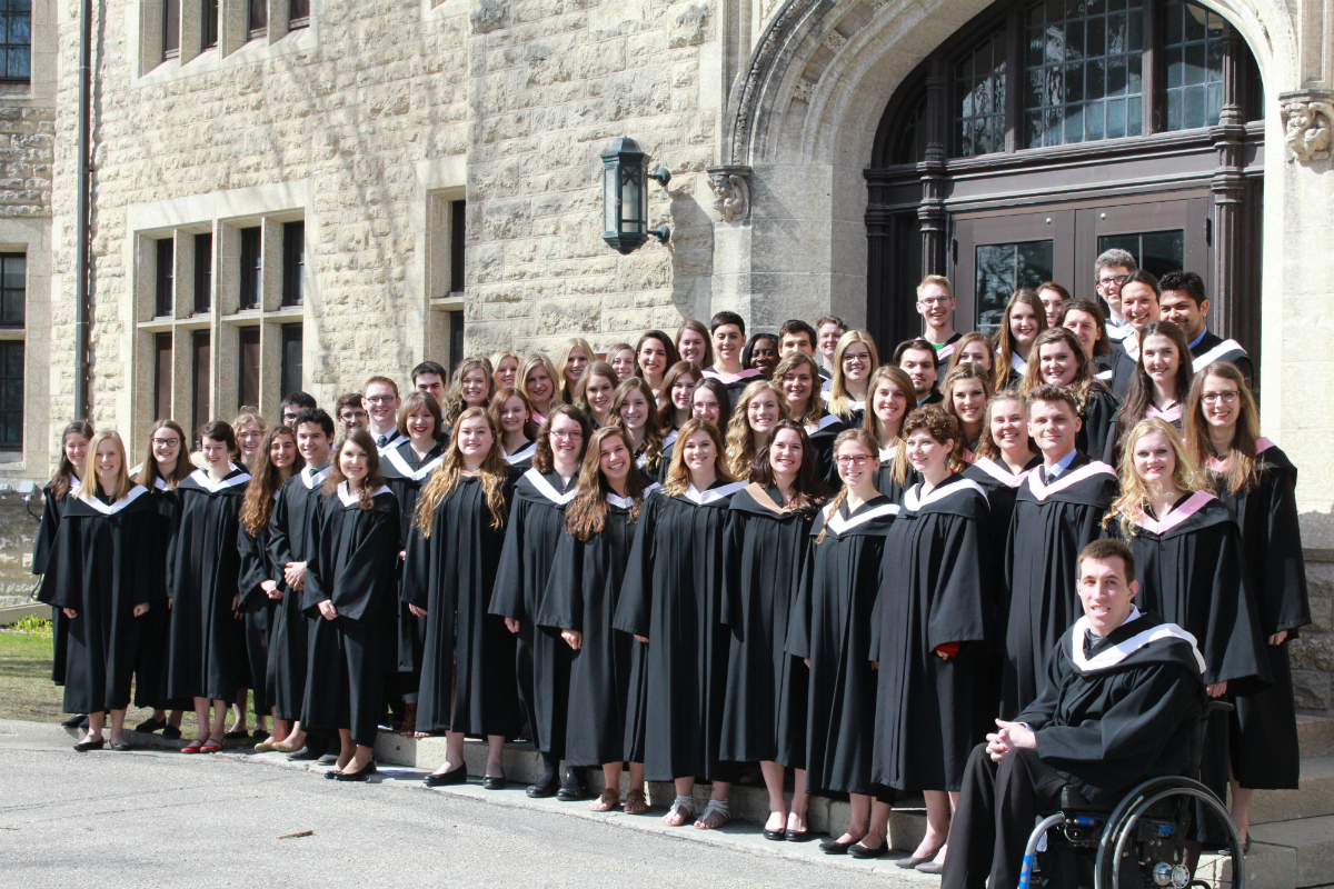 Canadian Mennonite University graduation 2017