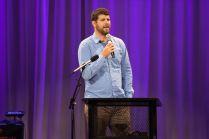 TED-style talk presenter Geoff Kullman