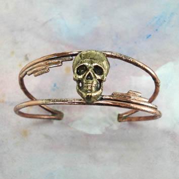 Bracelet- tête de mort