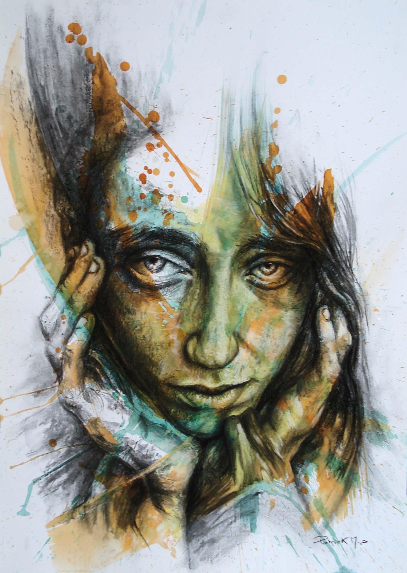 portrait tec mixe 44 x 64 cm 28