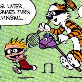 Bill Watterson on Imaginary Ladders and Happy Lives