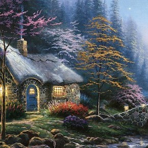 The Drunken Downfall (and Death) of Thomas Kinkade