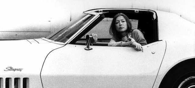 When Joan Didion Cries into a Food Fair Bag
