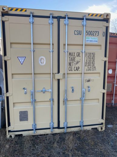 40' HC One Way Container 1