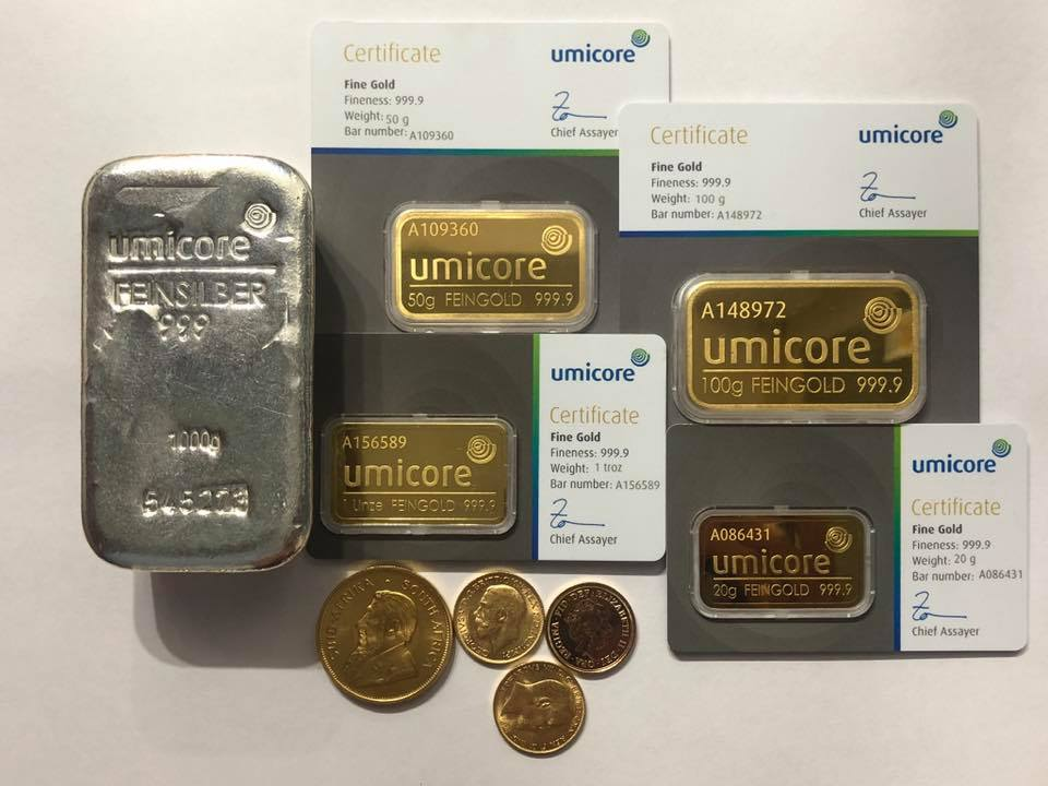 Umicore gold