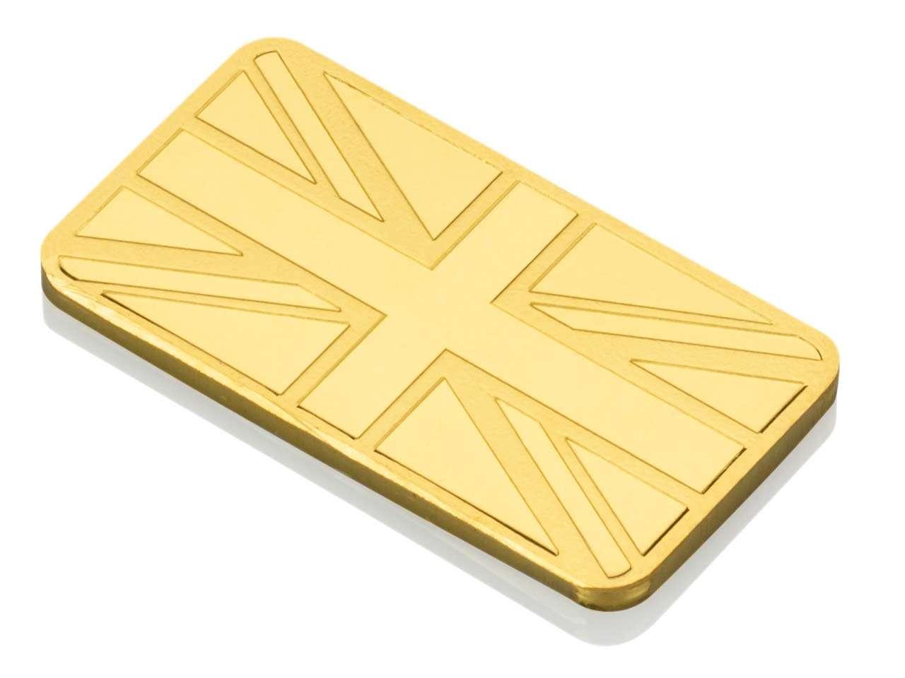 1 OUNCE (31.1g) FINE GOLD BAR