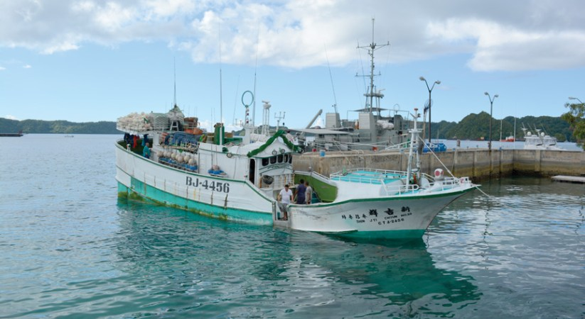 Palau apprehends illegal fishing vessel with launch of new tracking technology