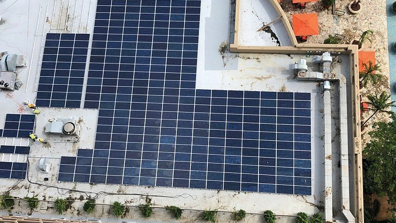 Let the sunshine in Major hotel paves the way in solar