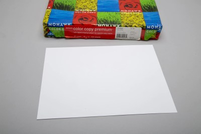 """""""100 bright"""" color copy paper thickness of card stock"""