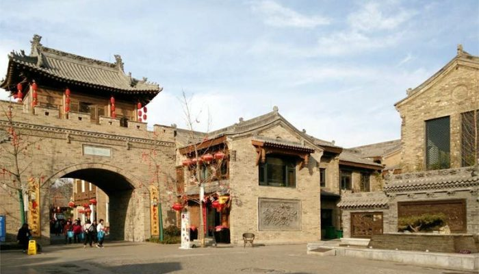Hancheng Ancient Town Regeration Master Plan mbo architects york uk
