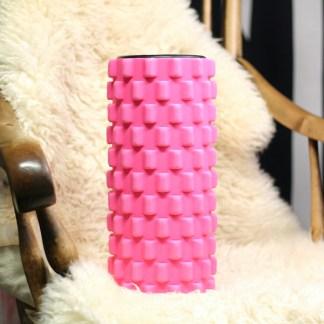 foam roller pinkki putkirulla