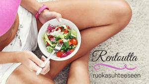 terveellinen ruokasuhde haaste
