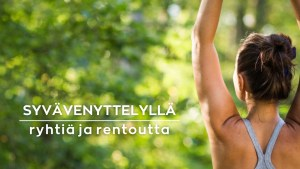 Syvävenyttelyohjeilla voit saada apua terveellisten tapojen omaksumiseen.