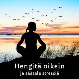 hengitä oikein ja säätele stressiä -verkkokurssi