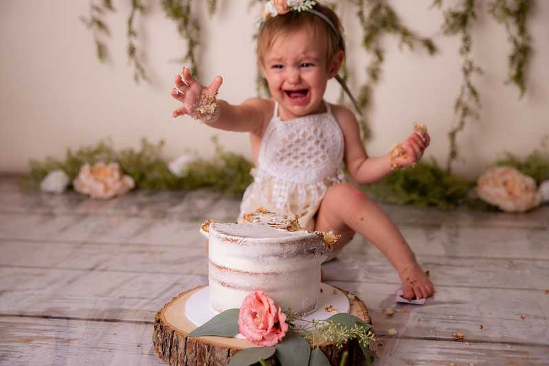 san jose cake smash photography