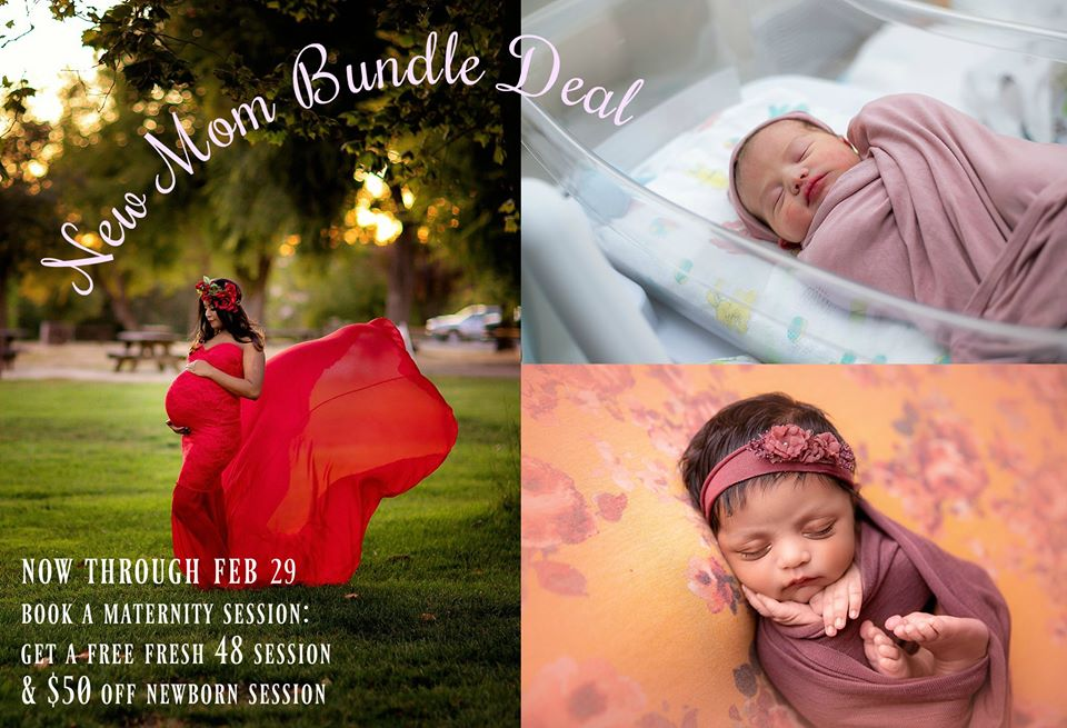 South Bay Maternity & Newborn Photography Special Offer