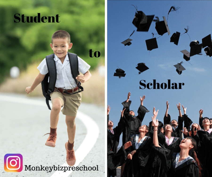 Student to Scholar image