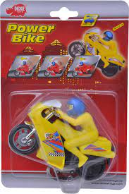 Dickie Toys Action Power Bike