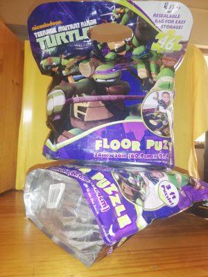 tmnt floor puzzle product image