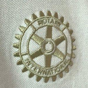 Rotary International Embroidered Shirt