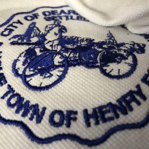 City of Dearborn Logo on Shirt