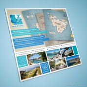 Flyer Promo - Nouveaux Sites Web Iles Paul Ricard