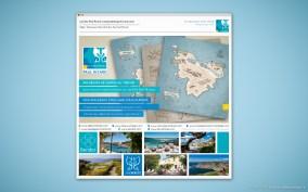 Visuel Email Promo Grand Public - Nouveaux Sites Web Iles Paul Ricard
