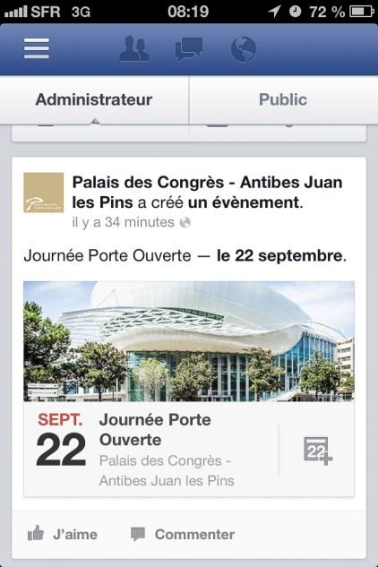 Visuel - Invitation - Événement Facebook