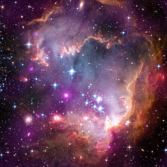 """Taken Under the """"Wing"""" of the Small Magellanic Cloud"""