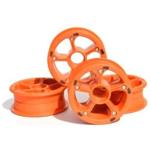 MBS RockStar II hubs orange