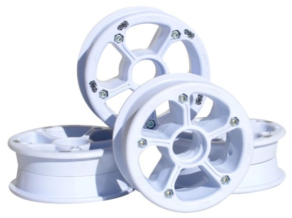 MBS RockStar II hubs white