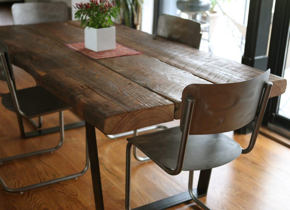 træ spisebord 3