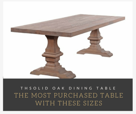 The most popular wooden table