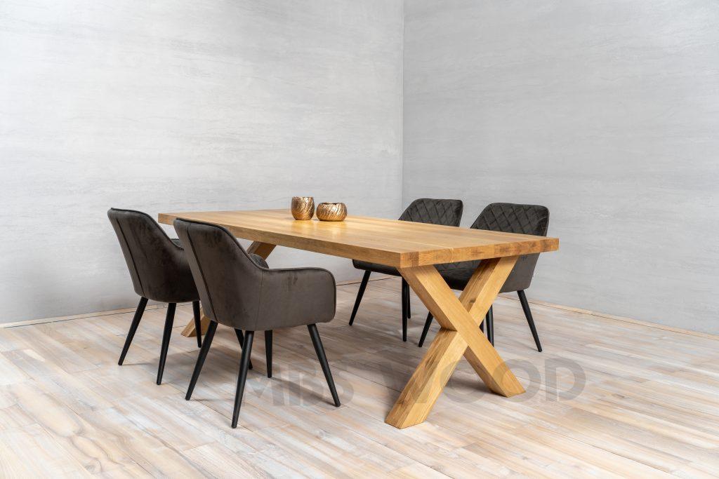 foto oak table height